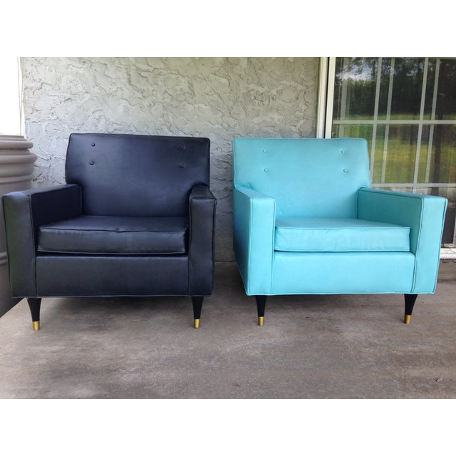 Carson's of High Point Club Chairs - A Pair - Image 2 of 9