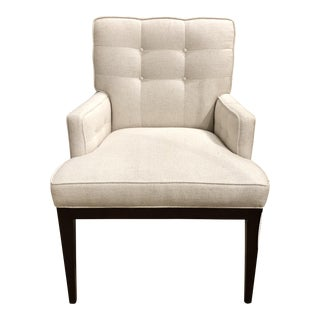 Transitional Dining Arm Chair For Sale