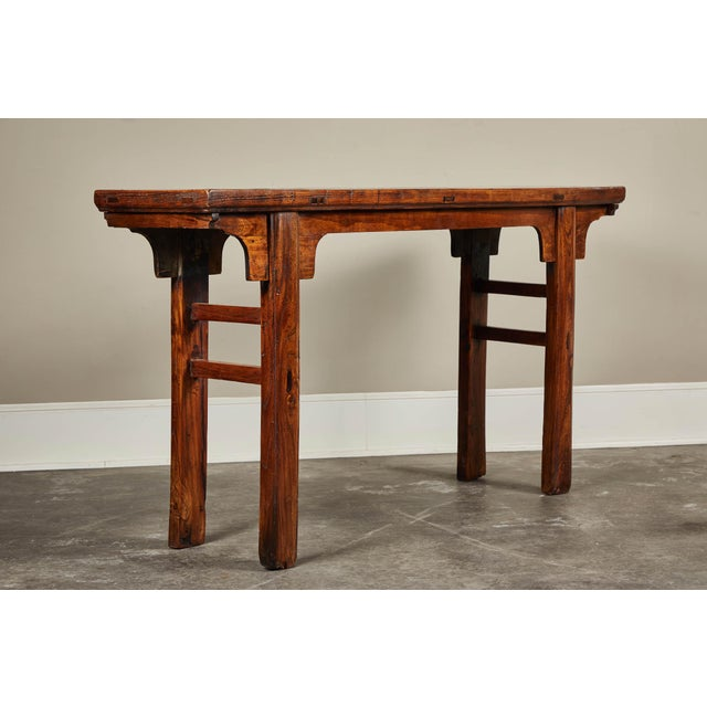 19th C. Chinese Ming Style Altar Table For Sale - Image 10 of 10