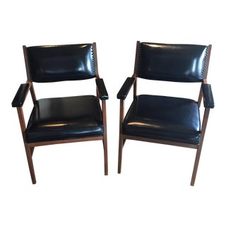 Mid-Century Office Chairs -A Pair