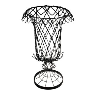 Traditional Shape Wire Urn For Sale