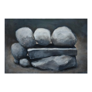 """""""Mending Wall: Family"""" Stone Wall Painting"""