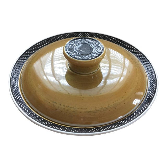 Mid-Century Ironstone Casserole Dish For Sale