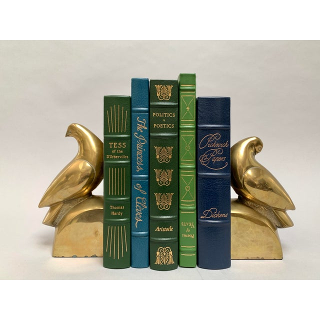 Brass Dove Bookends – a Pair For Sale - Image 4 of 13