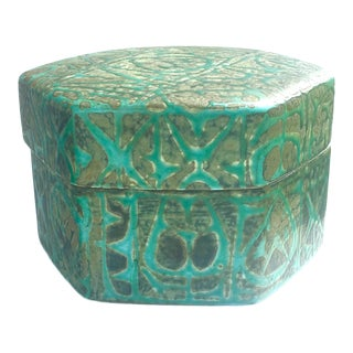Nils Thorsson Danish Modern Ceramic Box For Sale