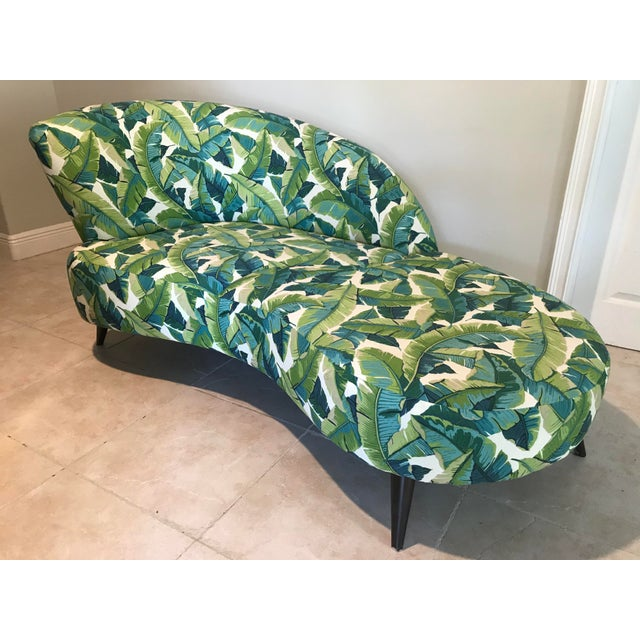 Palm Beach Chaise Lounge One of a Kind For Sale - Image 4 of 13
