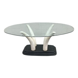 Mid Century Modern Maitland Smith Dining Table For Sale