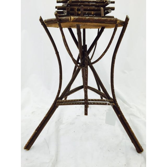 Folk Art Twig Game Table - Image 7 of 7