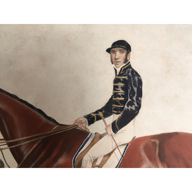 English Horse Racing Print, C1853 For Sale - Image 6 of 13