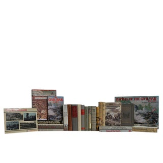 Civil War Memorabilia Book Set, S/25 For Sale