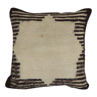 Pillow Case Fashioned From a Mid-20th Century Anatolian Angora Siirt Blanket For Sale
