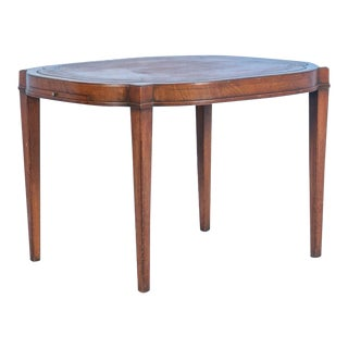 Antique English Mahogany Side Table or Small Coffee Table, Circa 1940 For Sale