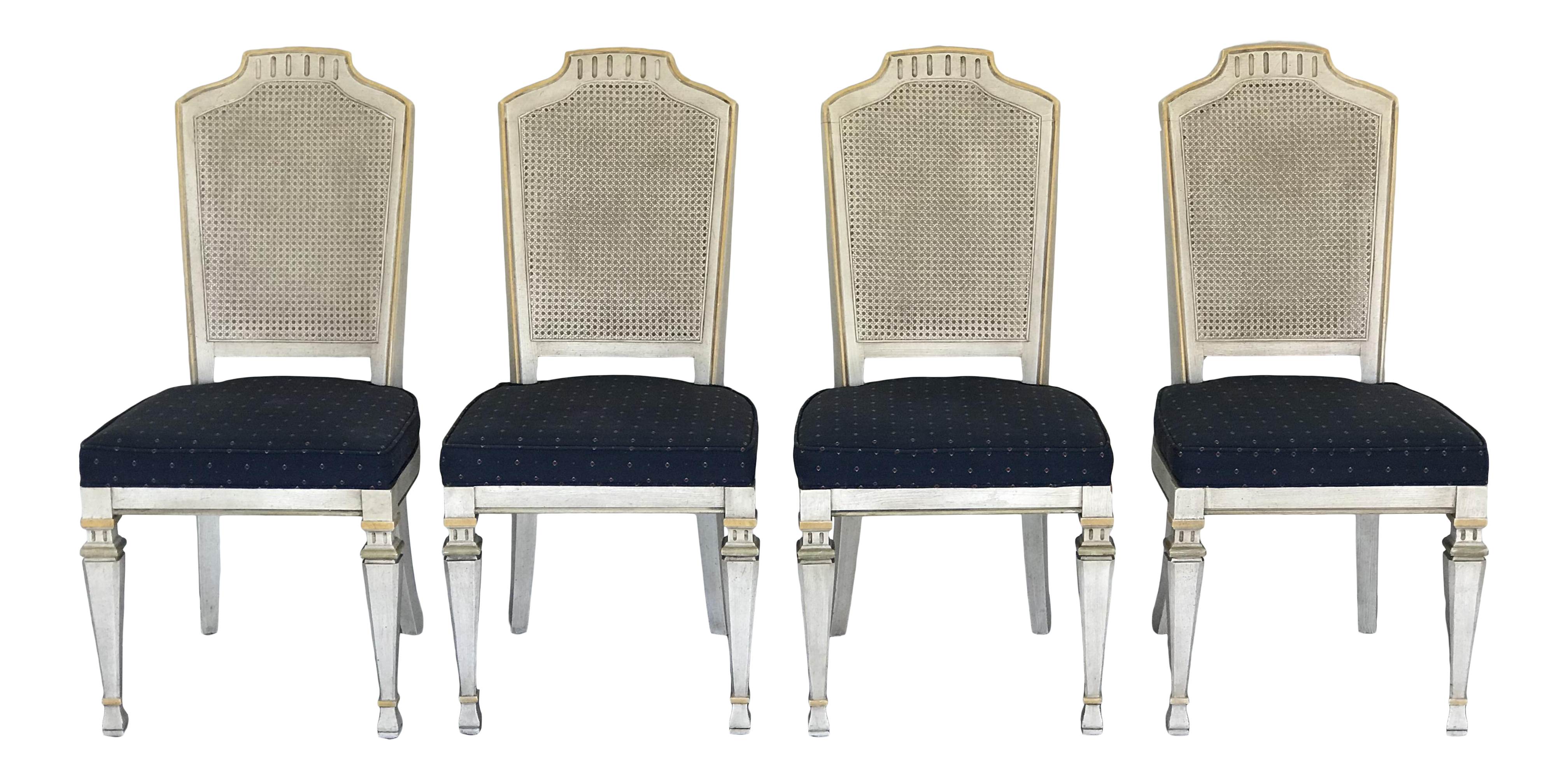 Genial 1970s Vintage Drexel Siena Furniture Italian Neoclassical Cane Back Dining  Chairs  Set Of 4