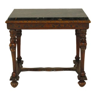 20th Century Renaissance Style Low Table For Sale