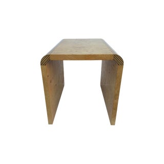Olive Burl Waterfall Accent Table Henredon Scene Two For Sale