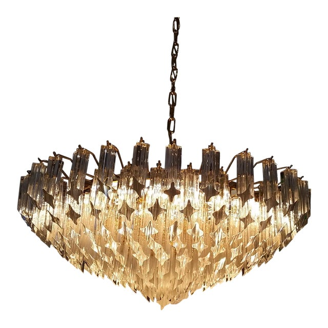 Paolo Venini for Naurelle Vintage Murano Chandelier - Image 1 of 5