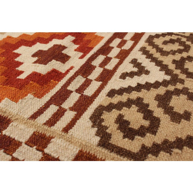 "Kashkoli Turkish Kilim Rug - 9'4"" X 11'11"" - Image 3 of 3"