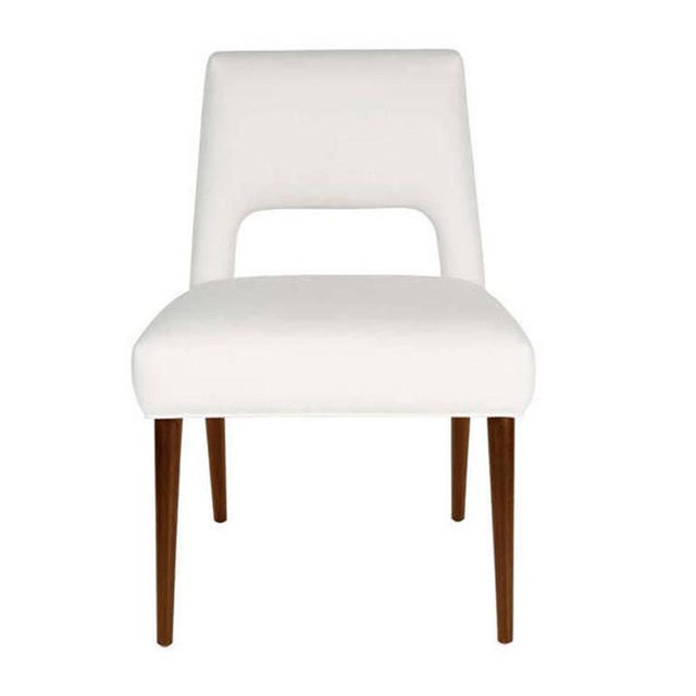Mid-Century Modern Set of Four Hofford Dining Chairs For Sale - Image 3 of 4