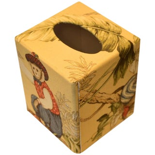 Monkey Tissue Box Cover For Sale