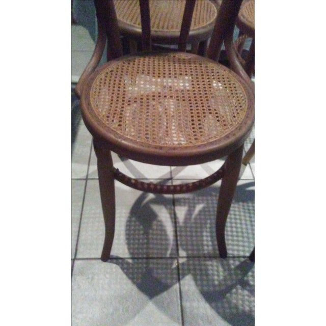 Vintage Thonet Bentwood Cane Chairs - 4 - Image 3 of 11