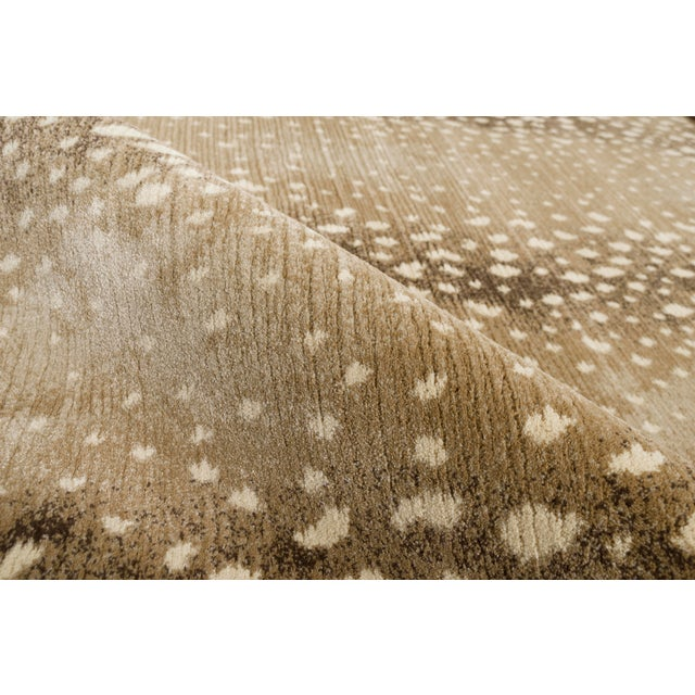 "Contemporary Stark Studio Rugs Deerfield Sand Rug - 9'10"" X 13'1"" For Sale - Image 3 of 6"