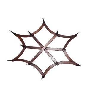 Antique Victorian Folding Star Wall Display/Hat Rack For Sale