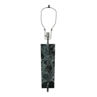 Mid Century Modern Nessen Croisillon Marble Lamp For Sale