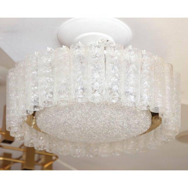 Brass Vintage Doria Flush Mount Light For Sale - Image 7 of 8
