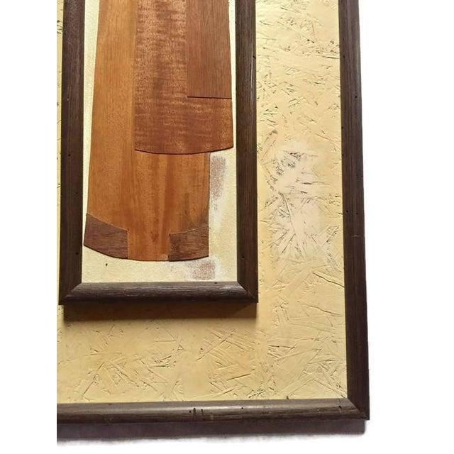 Mid Century Modern Wood Sculptural Wall Panels 49 \