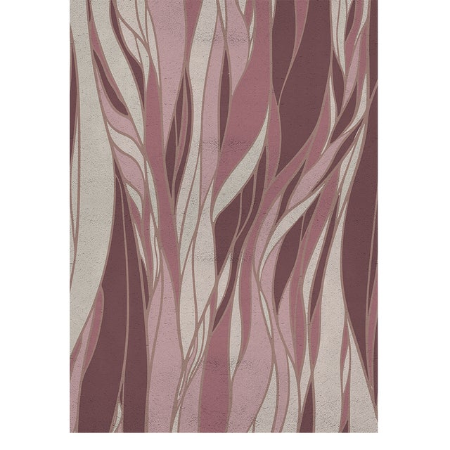 Modern Haar Botanical Rug From Covet Paris For Sale - Image 3 of 3