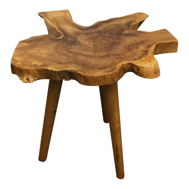 Live Edge Side Table - Image 1 of 9