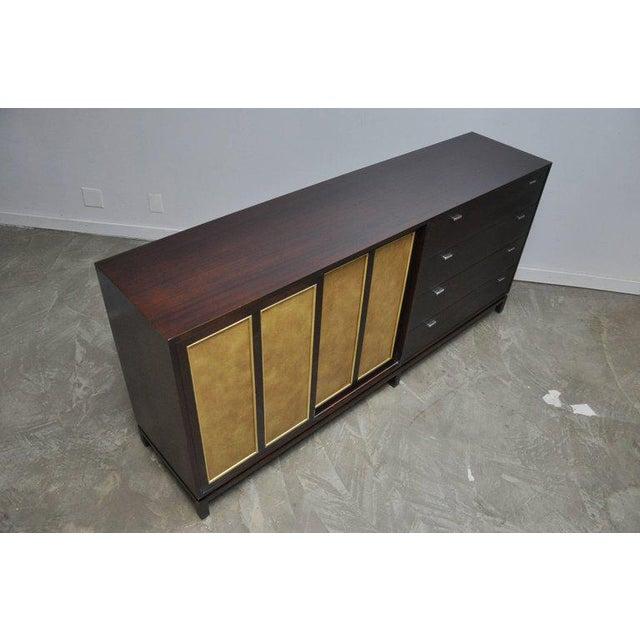 Gold Harvey Probber Long Sideboard Dresser For Sale - Image 8 of 10