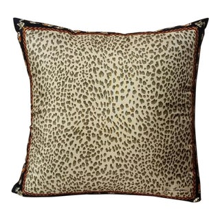 Jim Thompson Silk Leopard Pillow