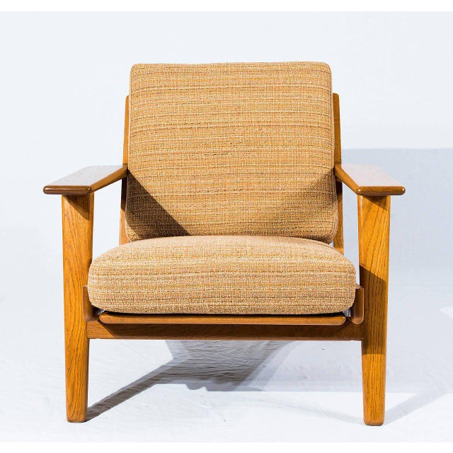 Pair of Hans Wegner GE-290 Lounge Chairs Designed in 1953 and Produced by Getama. Store formerly known as ARTFUL DODGER INC