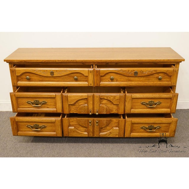 Vintage Dixie Asian Chinoiserie Triple Dresser For Sale In Kansas City - Image 6 of 13