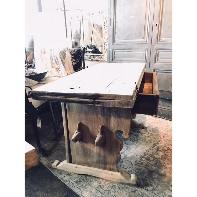 Antique Swiss Money Changing Table - Image 6 of 13