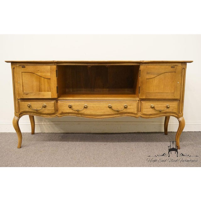 """Thomasville Furniture Chateau Collection French Country 64"""" Server / Buffet For Sale In Kansas City - Image 6 of 13"""