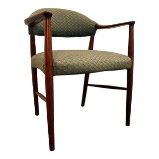Mid-Century Danish Modern Teak Open Arm Lounge Chair