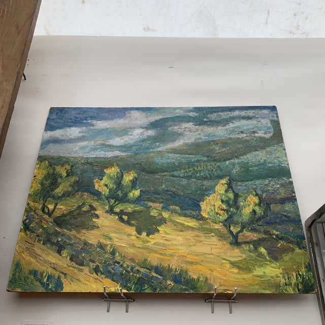 California Plein Air Landscape Painting For Sale - Image 4 of 6