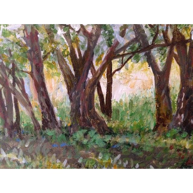 """Snowmass Creek"" Aspen Colorado Painting - Image 3 of 4"