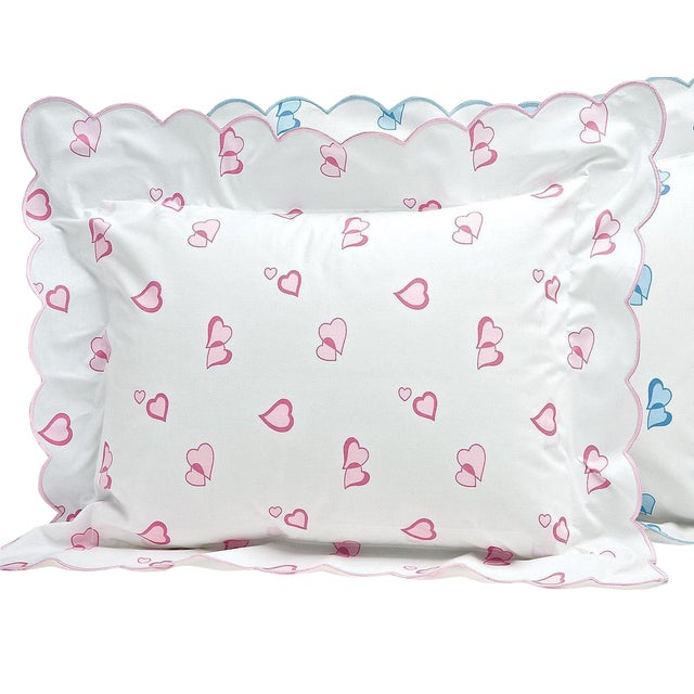 Lovable 21 Sham in Pink in Standard For Sale