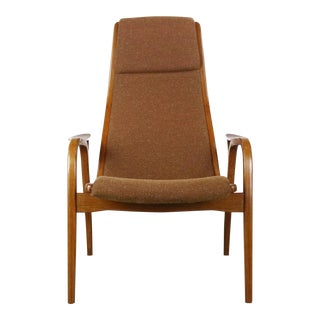 Lamino Chair in Original Knit Upholstery by Yngve Ekström for Swedese, Sweden For Sale