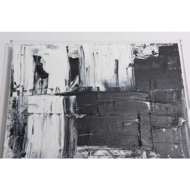 Contemporary Renato Freitas Original Oil on Canvas, 2015, Black and White 1 For Sale - Image 3 of 3