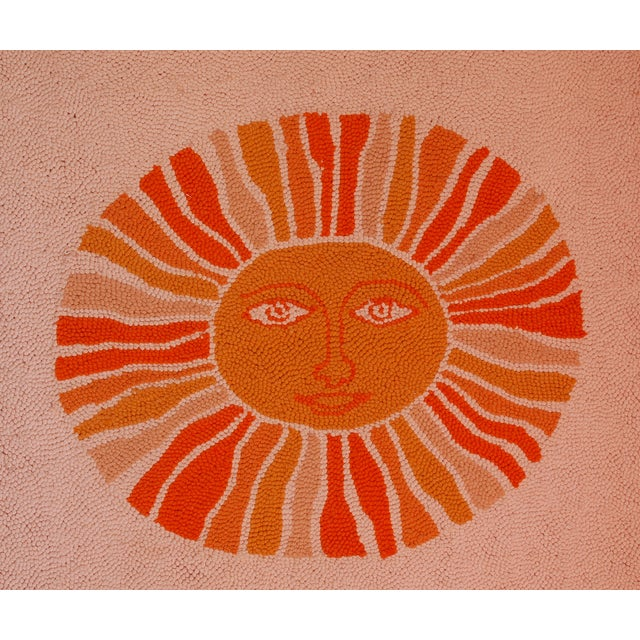 Evelyn Ackerman Sun & Lion Wall Tapestry For Sale In San Francisco - Image 6 of 7