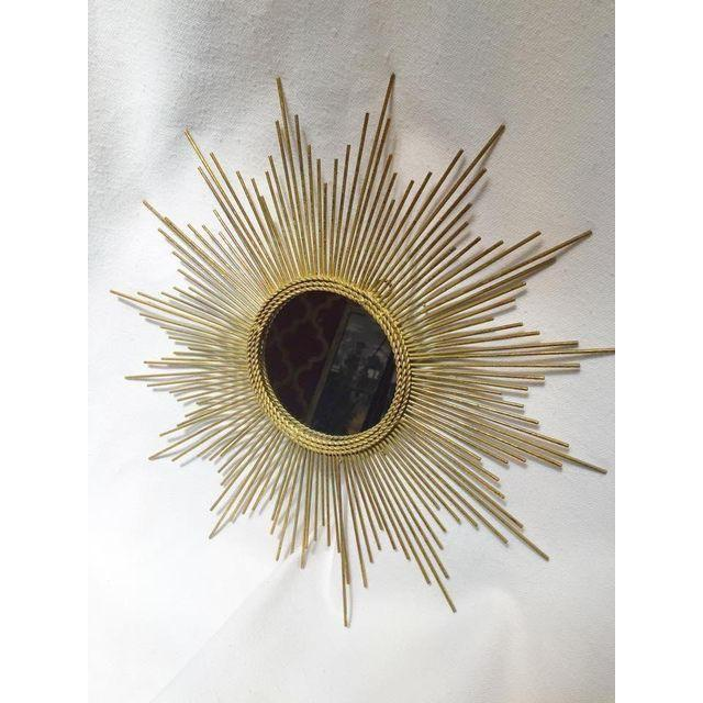 Art Deco Style Gold Starburst Mirror - Image 4 of 7