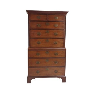 Late 18th Century George III Chest on Chest For Sale