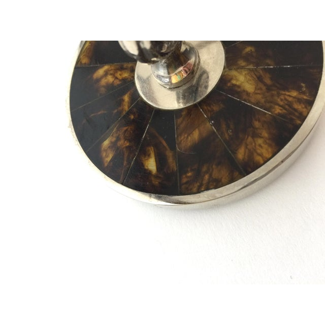 Late 20th Century Traditional Ralph Lauren Tortoise Shell Trinket Holder Jewelry Box For Sale - Image 5 of 10