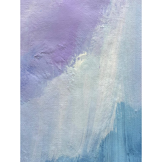 """Not Yet Made - Made To Order """"Abstract Lavender Bloom"""" - Framed Print 32x48 For Sale - Image 5 of 8"""