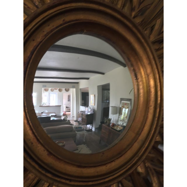 Wooden Sunburst Mirror - Image 7 of 11