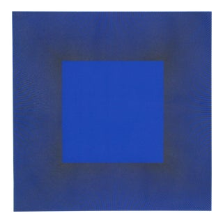 "Richard Anuszkiewicz, ""Midnight Suite"" (Blue/Black), Op Art Etching For Sale"